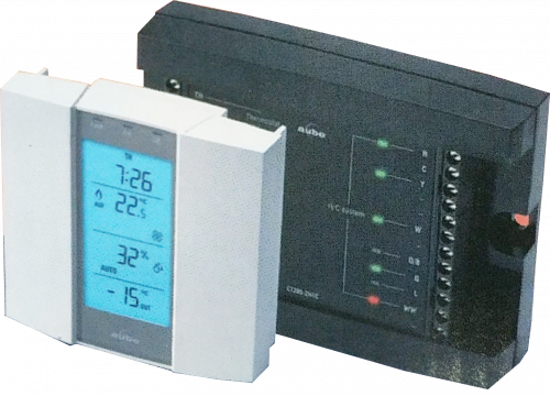 TH146-P-2H1C Honeywell Aube Programmable HVAC & Heat Pump Thermostat